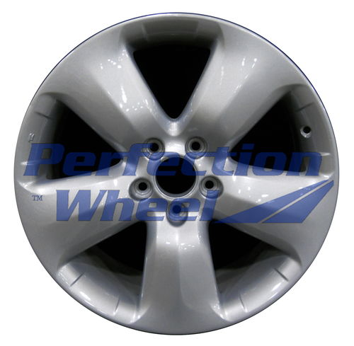 WAO.71757 18x7.5 Dark Blueish Sparkle Silver Full Face