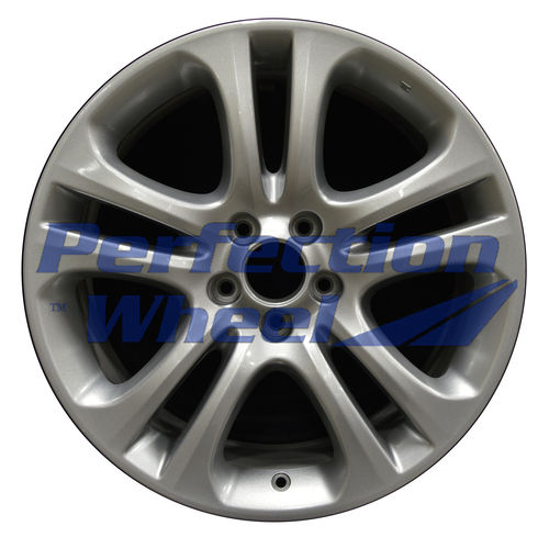 WAO.71761 19x8.5 Blueish Metallic Silver Full Face