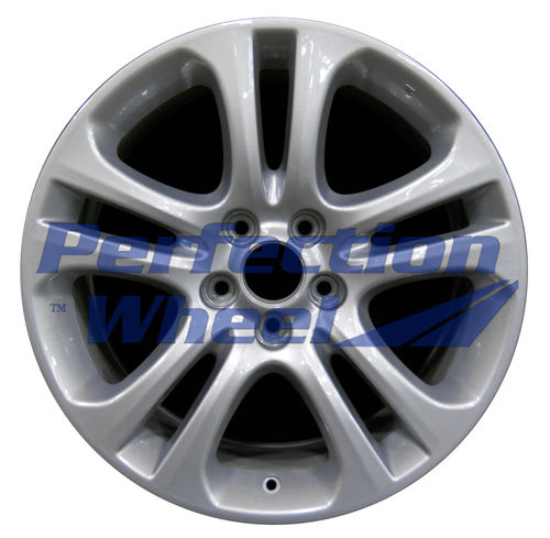 WAO.71761 19x8.5 Dark Blueish Sparkle Silver Full Face