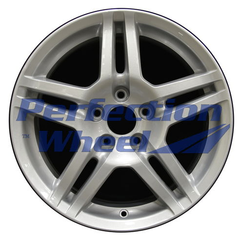 WAO.71762 17x8 Bright Medium Sparkle Silver Full Face