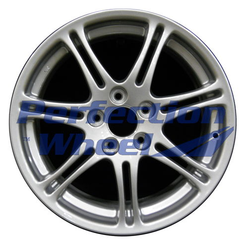 WAO.71764 17x7 Blueish Metallic Silver Full Face