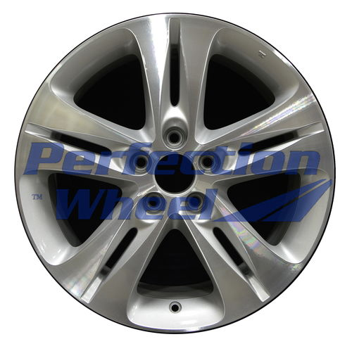 WAO.71792 18x8 Bright medium silver Machined