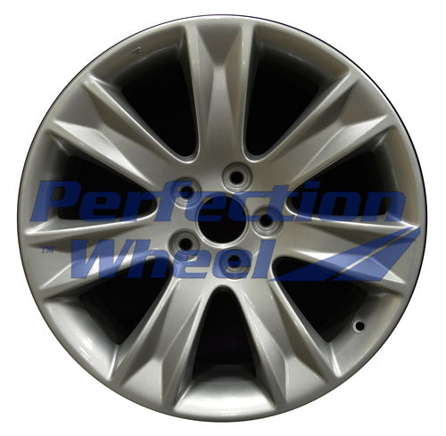 WAO.71794 19x8.5 Bright metallic silver Full Face