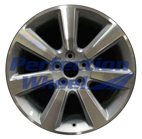WAO.71795 19x8.5 Dark Blueish Sparkle Silver Machined