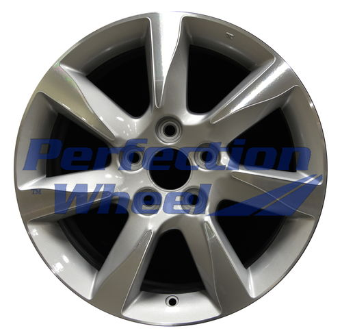 WAO.71801 17x8 Bright medium silver Machined