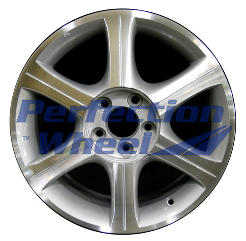 WAO.73661 17x7 Bright fine metallic silver Machined