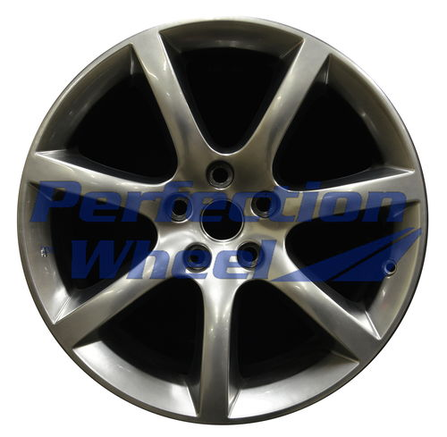 WAO.73672FT 18x8 Hyper Bright Smoked Silver Full Face