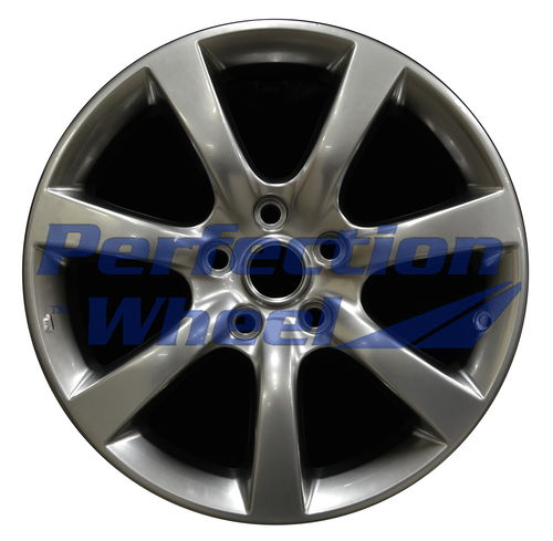 WAO.73681 17x7 Hyper Bright Smoked Silver Full Face Bright
