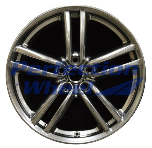 WAO.73687 19x8.5 Hyper Bright Smoked Silver Full Face