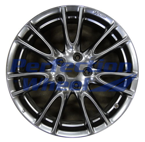 WAO.73695RE 18x8.5 Hyper Bright Smoked Silver Full Face
