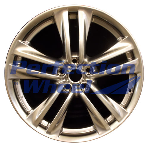 WAO.73697 19x8.5 Hyper Bright Smoked Silver Full Face