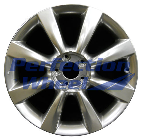 WAO.73700 18x8 Hyper Bright Smoked Silver Full Face