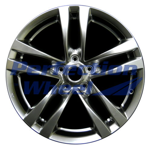 WAO.73702FT 18x8 Hyper Bright Smoked Silver Full Face