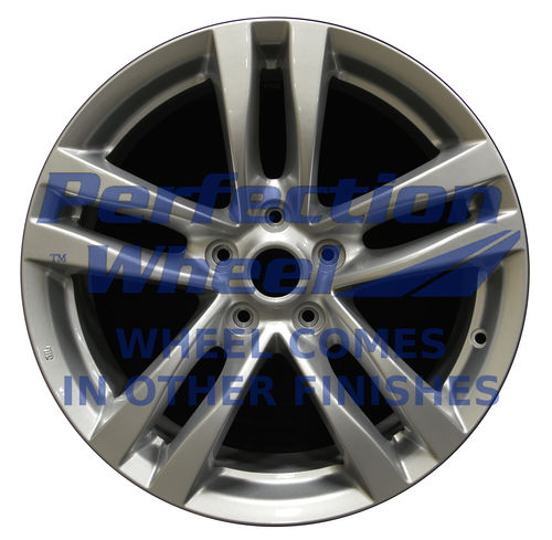 WAO.73702FT 18x8 Hyper Bright Smoked Silver Full Face Bright