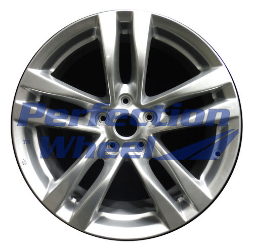 WAO.73703RE 18x8 Hyper Bright Mirror Silver Full Face