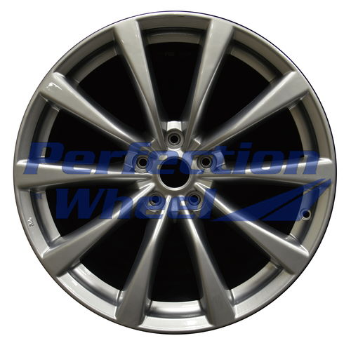 WAO.73704FT 19x8.5 Hyper Medium Silver Full Face