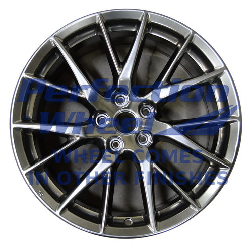 WAO.73743FT 19x8.5 Black Full Face