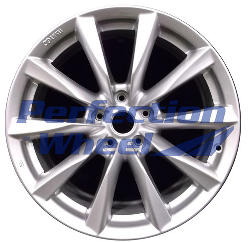 WAO.73753FT 18x8 Bright metallic silver Full Face