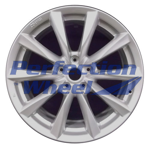 WAO.73754RE 18x8.5 Bright metallic silver Full Face