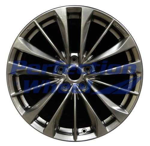 WAO.73755FT 19x8.5 Hyper Bright Smoked Silver Full Face
