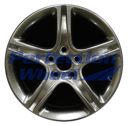 WAO.74157 17x7 Hyper Bright Smoked Silver Full Face