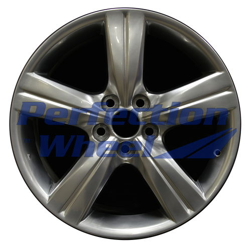 WAO.74184 18x8 Hyper Bright Smoked Silver Full Face
