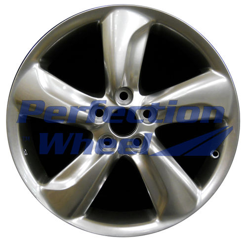 WAO.74210 18x8 Hyper Bright Smoked Silver Full Face