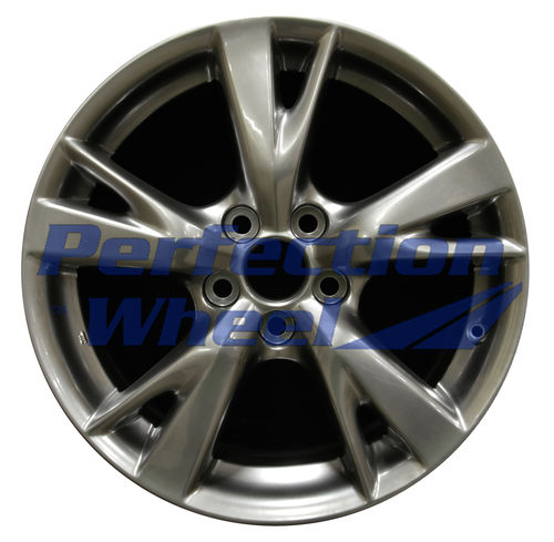 WAO.74217 18x8.5 Hyper Bright Smoked Silver Full Face Bright
