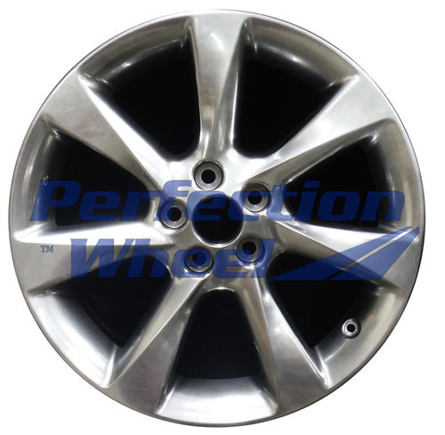 WAO.74252 19x7.5 Hyper Bright Smoked Silver Full Face