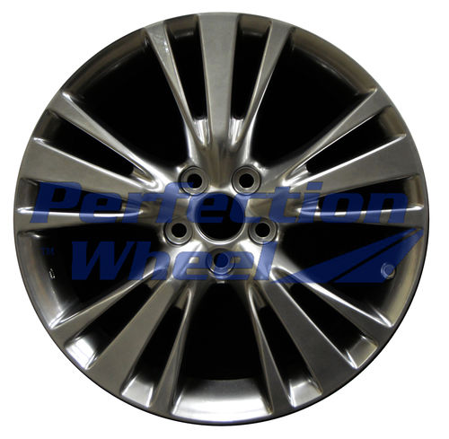 WAO.74254 19x7.5 Hyper Bright Smoked Silver Full Face
