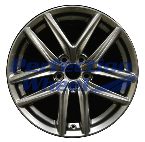 WAO.74292FT 18x8 Hyper Dark Silver Full Face