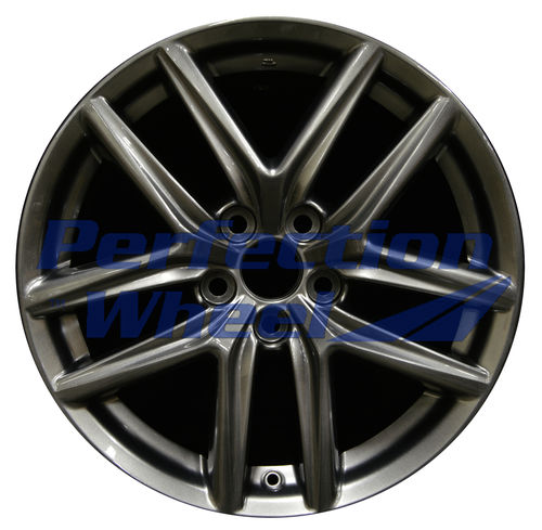 WAO.74293RE 18x8.5 Hyper Dark Silver Full Face