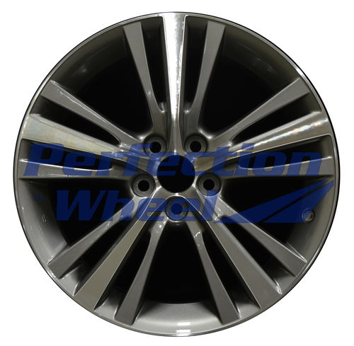 WAO.74301 19x7.5 Dark Metallic Charcoal Machined