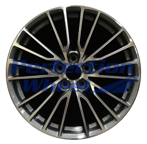 WAO.74322RE 19x10 Medium Charcoal Machined Bright