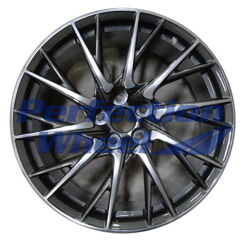 WAO.74324RE 19x10 Medium Charcoal Polish
