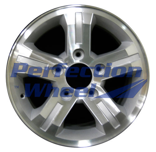 WAO.74566 16x7 Sparkle Silver Machined
