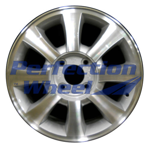 WAO.74568B 16x6 Sparkle Silver Machined