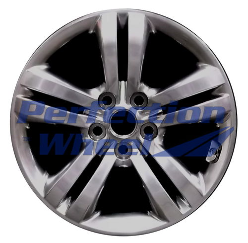 WAO.74613 17x6.5 Hyper Bright Smoked Silver Full Face Bright