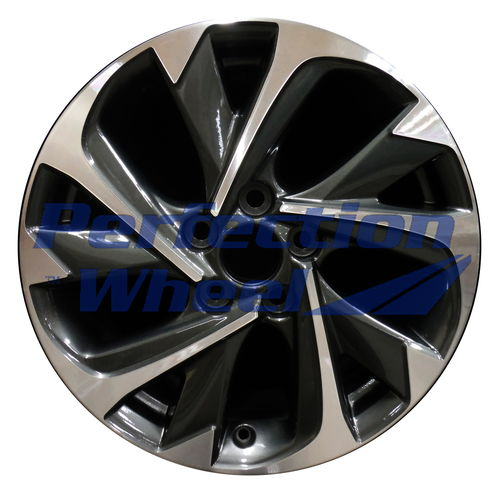 WAO.75183 17x7 Dark Granite Metallic Machined