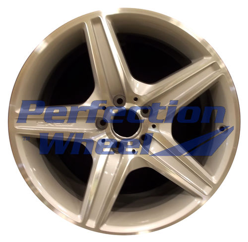 WAO.85003 18x8.5 Bright fine silver Machined