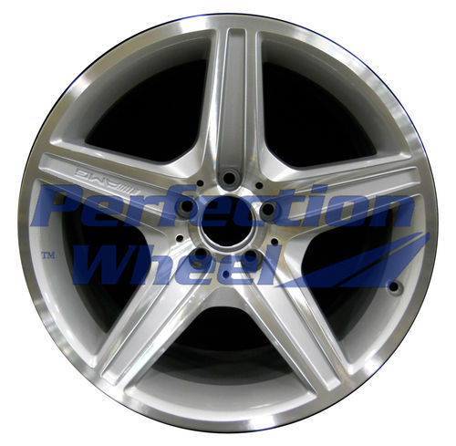 WAO.85004 18x9.5 Bright fine silver Machined