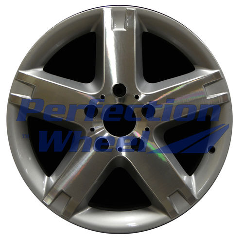 WAO.85013 18x7.5 Bright Fine Metallic Silver Machined Bright POD