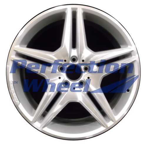 WAO.85030FT 20x8.5 Bright fine metallic silver Machined