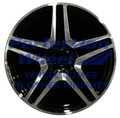 WAO.85051 20x8.5 Dark Metallic Charcoal Machined Bright Painted OD