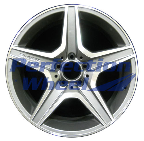 WAO.85060RE 18x9 Bright Metallic Charcoal Machined
