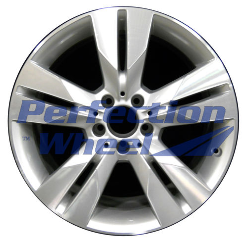 WAO.85065RE 18x9.5 Fine bright silver Machined