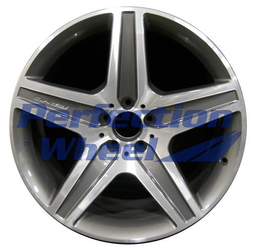 WAO.85073 20x10 Dark Metalic Charcoal Machined