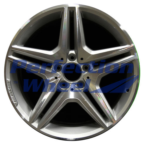 WAO.85089RE 18x8.5 Fine bright silver Machined