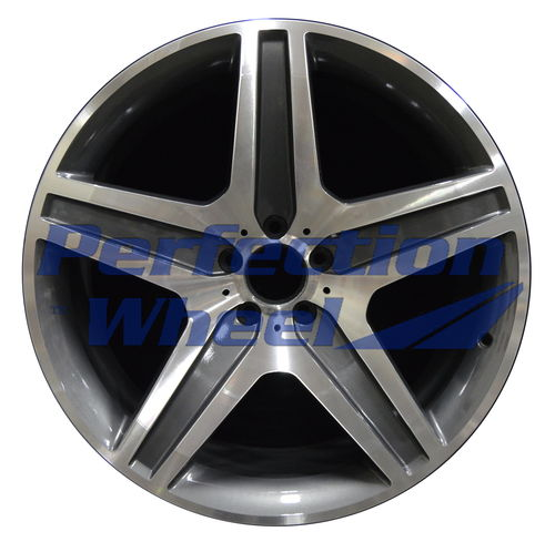WAO.85108 21x10 Medium Charcoal Machined