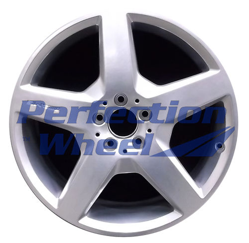 WAO.85116FT 19x8.5 Hyper Bright Mirror Silver Full Face
